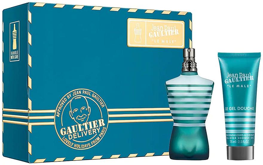 Jean Paul Gaultier Le Male - Set (eau de toilette/75ml + gel de ducha/75ml)