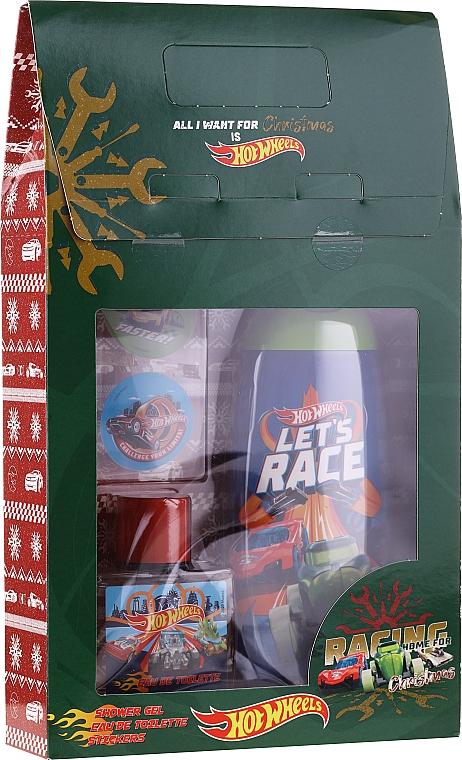 Set infantil (gel de ducha/250ml + edt/50ml + stickers) - Uroda For Kids Hot Wheels