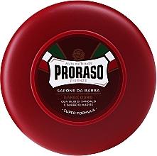 Perfumería y cosmética Jabón de afeitar con manteca de karité y sándalo - Proraso Red Shaving Soap