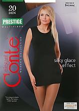 Perfumería y cosmética Pantis Prestige, 20 Den, efecto bronceado - Conte