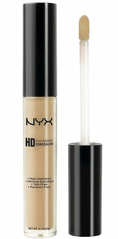 Corrector facial líquido con minerales - NYX Professional Makeup Concealer Wand