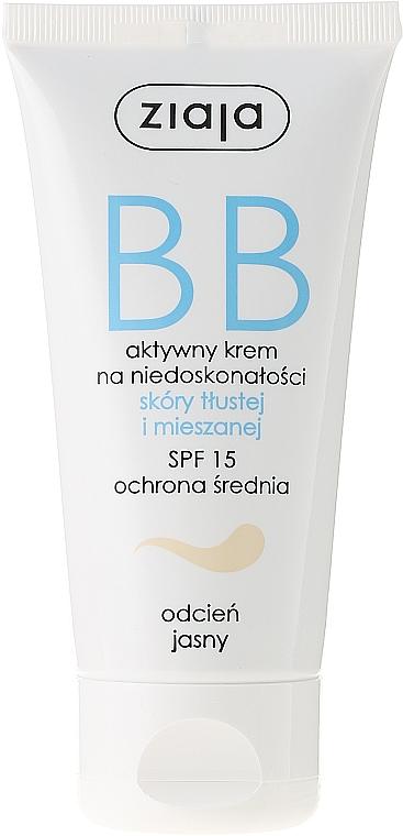 BB crema para piel mixta y grasa - Ziaja BB-Cream SPF 15