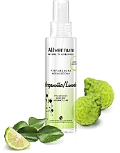 Perfumería y cosmética Bruma corporal perfumada con aroma a bergamota & lima - Allverne Nature's Essences Body Mist