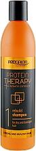 Perfumería y cosmética Champú restaurador fortificante con complejo de queratina - Prosalon Protein Therapy + Keratin Complex Rebuild Shampoo