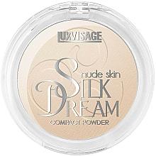 Perfumería y cosmética Polvo facial compacto con efecto mate - Luxvisage Silk Dream Nude Skin
