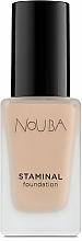 Perfumería y cosmética Base de maquillaje fluida duradera con acabado mate y luminoso - NoUBA Staminal Foundation