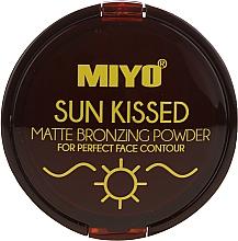 Perfumería y cosmética Polvo bronceador compacto. acabado mate - Miyo Sun Kissed Matt Bronzing Powder