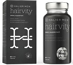 Perfumería y cosmética Complemento alimenticio en cápsulas con colágeno y aminoácidos para cabello sano, 60 cáp. - Halier Men Hairvity Hair Vitamins Anti Hair Loss