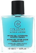 Set de afeitar con vitamina A, B6 y E - Collistar (gel aftershave/100ml + crema/30ml) — imagen N2