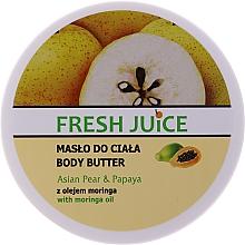 Perfumería y cosmética Manteca corporal con pera asiática & papaya - Fresh Juice Asian Pear & Papaya