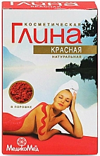 Perfumería y cosmética Arcilla roja cosmética - Medikomed