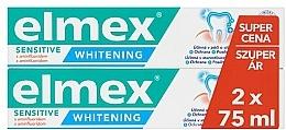 Perfumería y cosmética Set pasta dental - Elmex Professional Sensitive Whitening Teeth (toothpaste/2x75ml)