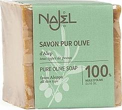 Perfumería y cosmética Jabón con aceite de oliva - Najel Pure Olive Soap From Alepo