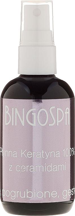 Queratina para cabello con ceramidas - BingoSpa 100% Pure Liquid Keratin with Ceramides