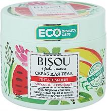 Perfumería y cosmética Exfoliante corporal con aceites de coco y mango - Bisou I feel... Nature Nourishing Body Scrub