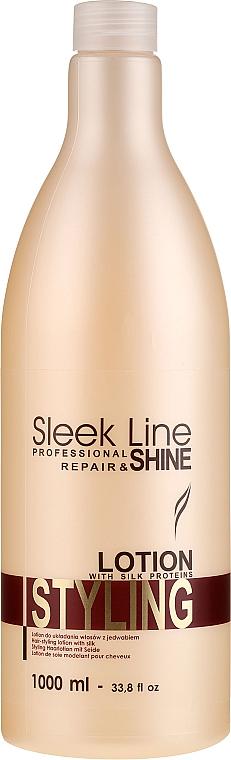 Loción para el moldeado del cabello con proteínas de seda - Stapiz Sleek Line Styling Lotion