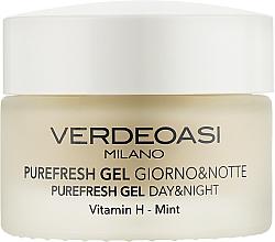 Perfumería y cosmética Gel aftershave purificante con vitamina H y menta - Verdeoasi Purefresh Gel Day&Night