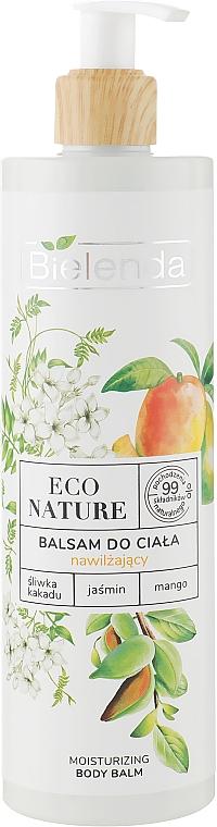 Bálsamo corporal hidratante con extractos de ciruela kakadu, jazmín y mango, vegano - Bielenda Eco Nature Kakadu Plum, Jasmine and Mango