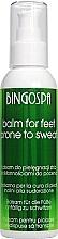 Perfumería y cosmética Bálsamo antitranspirante para pies con aceite de menta - BingoSpa Balm For Feet Prone To Sweat