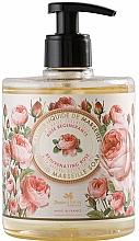 Perfumería y cosmética Jabón líquido de Marsella con aceite esencial de rosas - Panier des Sens Rose Liquid Marseille Soap