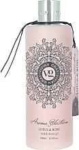 Perfumería y cosmética Gel de ducha perfumado - Vivian Gray Aroma Selection Shower Gel Lotus & Rose
