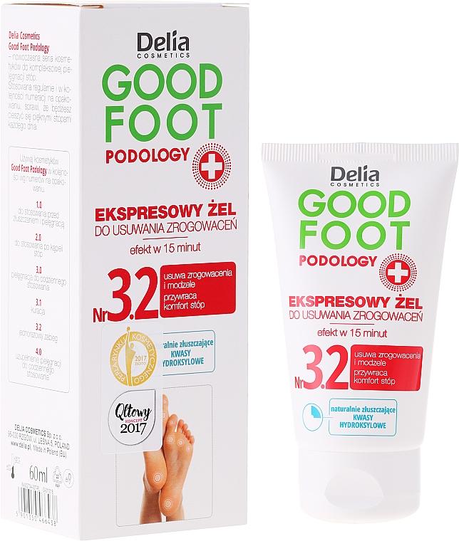 Gel para pies removedor de callos - Delia Cosmetics Good Foot Podology Nr 3.2