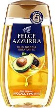 Perfumería y cosmética Aceite de ducha hidratante con aroma a aguacate & papaya - Felce Azzurra Shower Oil