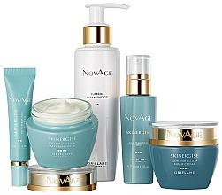 Perfumería y cosmética Oriflame NovAge Skinergise Set - Set facial (gel/150ml+crema contorno de ojos/15ml+ sérum/30ml+ crema de día/50ml+ crema de noche/50ml)