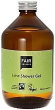 Perfumería y cosmética Gel de ducha natural lima con aceite de oliva - Fair Squared Lime Shower Gel