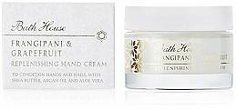 Perfumería y cosmética Bath House Frangipani & Grapefruit - Crema de manos con aceite de argán y extracto de aloe