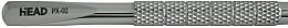 Perfumería y cosmética Espátula empujacuículas bilateral - Staleks X-line PX-02