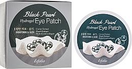 Perfumería y cosmética Parches de hidrogel para contorno de ojos con extracto de caviar y perlas - Esfolio Black Pearl Hydrogel Eye Patch
