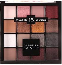 Perfumería y cosmética Paleta de sombras de ojos - Gabriella Salvete Palette 16 Shades II