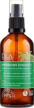 Perfumería y cosmética Spray para cabello graso con extracto de hierbas y eneldo - DLA