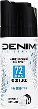 Perfumería y cosmética Desodorante spray antitranspirante y antimanchas - Denim Deo Dry Sensation