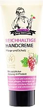 Perfumería y cosmética Crema de manos con aceite de semilla de uva - Las recetas de la abuela Gertruda
