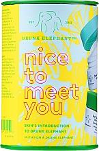 Perfumería y cosmética Set de cuidado facial - Drunk Elephant Nice to Meet You (cr/15ml + clean/22g + boost/1g)