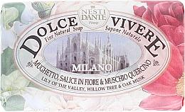 """Perfumería y cosmética Jabon natural """"Milano"""" con lirio del valle - Nesti Dante Dolce Vivere Milano"""