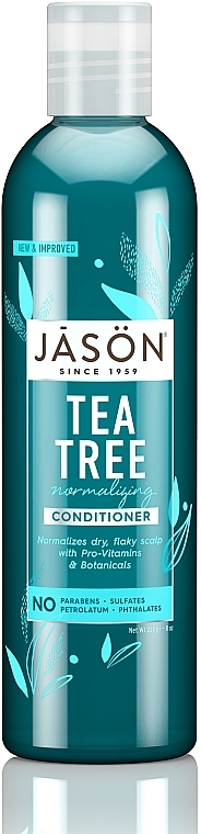 Acondicionador fortificante con aceite de árbol de té - Jason Conditioner Normalizing Tea Tree Conditioner — imagen N1