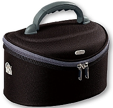 Neceser grande ovalado 32,5x22x19 cm, 95047, negro - Top Choice Oval Black — imagen N1