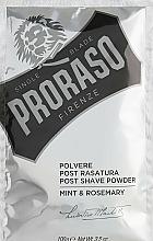 Perfumería y cosmética Proraso Mint & Rosemary Post Shave Powder - Polvo after shave con menta & romero