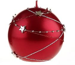 Perfumería y cosmética Vela decorativa, roja, 10x10cm - Artman Christmas Garland