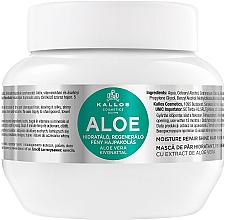 Perfumería y cosmética Mascarilla capilar con aloe vera - Kallos Cosmetics Moisture Repair Aloe Hair Mask