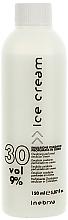 Perfumería y cosmética Emulsión cremosa oxidante profesional, 30 Vol. 9% - Inebrya Hydrogen Peroxide