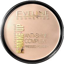 Perfumería y cosmética Polvo facial compacto matificante - Eveline Cosmetics Anti-Shine Complex