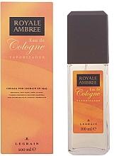 Perfumería y cosmética Legrain Royale Ambree - Agua de colonia con vaporizador