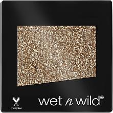 Perfumería y cosmética Pigmento brillante para rostro y cuerpo con vitamina E - Wet N Wild Color Icon Single Glitter