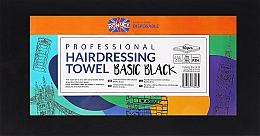 Perfumería y cosmética Toallas de peluquería desechables, negras, 50uds. - Ronney Professional Hairdressing Towel Basic Black