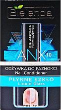 Perfumería y cosmética Tratamiento para uñas dañadas con acabado natural - Bielenda Liquid Glass Nail Conditioner