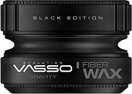 Perfumería y cosmética Cera para cabello de fijación fuerte - Vasso Professional Hair Styling Wax Gravity Black Edition